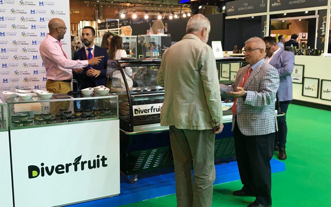 Diverfruit endulza 'Andalucía Sabor' con sus deliciosos bombones y productos delicatessen de fruta natural