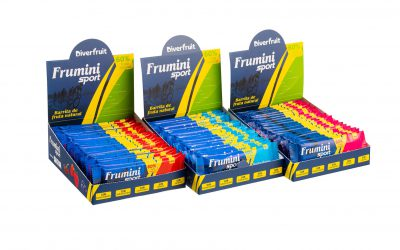 Diverfruit anuncia en la Vuelta a Andalucía el lanzamiento de Frumini Sport, la barrita de fruta natural