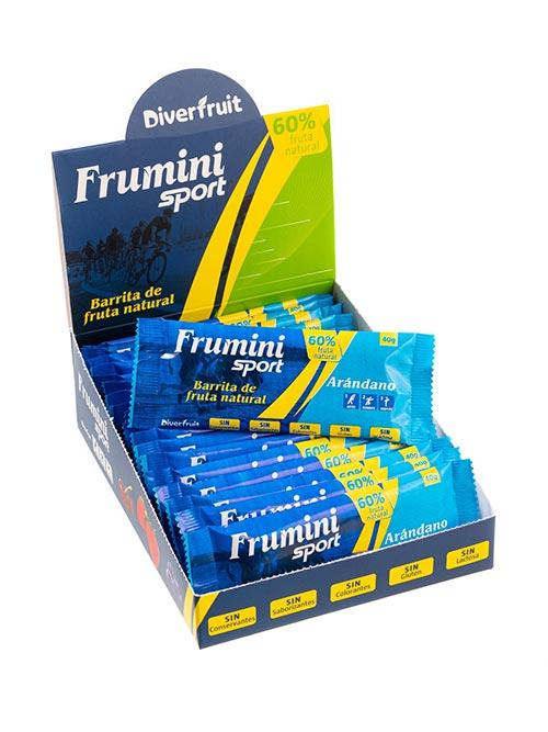 Frumini Sport Arándano, barrita de fruta natural para deportistas