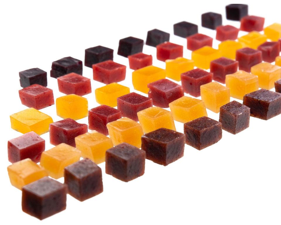 Fruminis con más del l60% de fruta natural