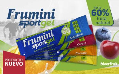 Diverfruit lanza Frumini Sportgel, fruta natural para deportistas que aporta energía instantánea en un formato líquido