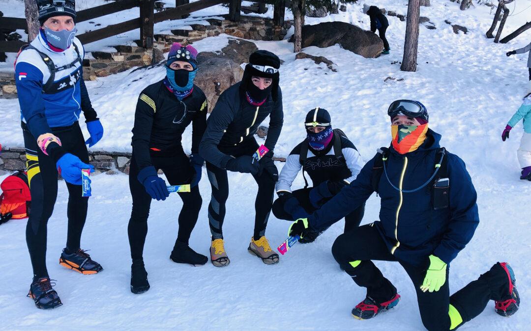 Los productos de fruta natural Frumini Sport proporcionarán la energía que necesitan los participantes de la X Snow Running Sierra Nevada