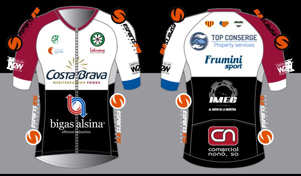 Frumini Sport proveerá de barritas y geles de fruta natural al equipo ciclista femenino Costa Brava Mediterranean Foods Top Conserge